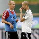 Guardiola: Robben Saya CInta Kamu