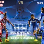 Prediksi Pertandingan Atletico Madrid vs Chelsea 23 April 2014 UEFA Champions League