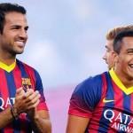 Barca Siap Lepas Cesc Fabregas, Alves dan Alexis Sanchez
