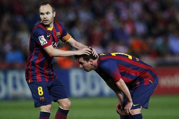 Iniesta dan Messi