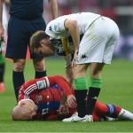 Robben Cedera, Guardiola Tetap Positif