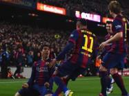 Suarez rayakan gol
