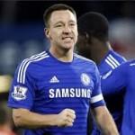 Terry Pantas Raih Pemain Terbaik Ketimbang Hazard