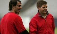 Steven Gerrard dan Maldini