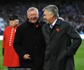 Ferguson dan Ancelotti