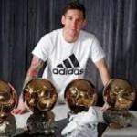 Enrique Sebut Messi adalah Superstar Dunia