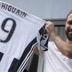 Juve Sukses Datangkan Higuain