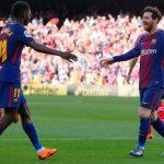 Dembele Akui Senang Main Dengan Messi