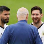 Aguero Akui Mustahil Bisa Satu Klub Bareng Messi